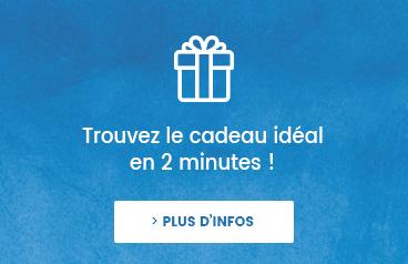 Trouvez le cadeau idéal en 1 minute !